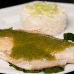 recette de poisson en sauce au vin blanc