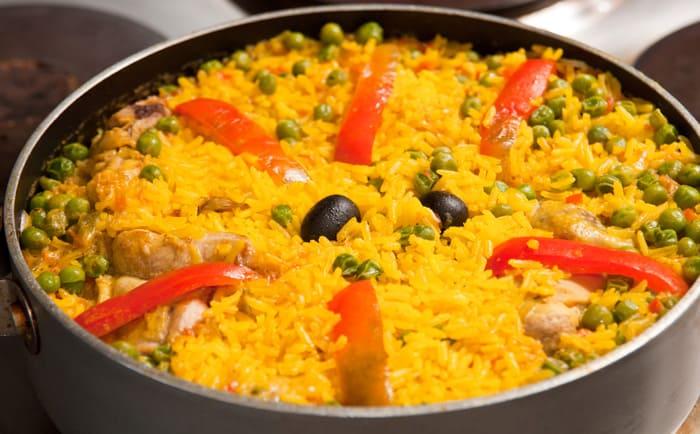 riz au poulet, recette de riz facile