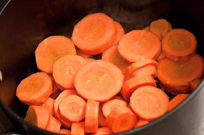 velouté de carotte recette