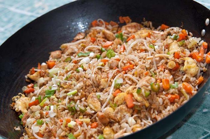 riz cantonais, recette originale