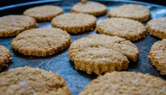 cookies aux flocons d'avoine, recette de cuisine facile