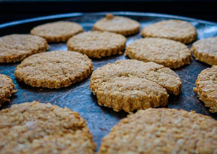 cookies healthy aux flocons d'avoine