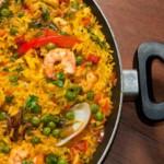 paella aux fruits de mer, recette de cuisine facile