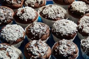 muffins au chocolat, recette pour le petit-déjeuner
