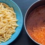sauce bolognaise pour la recette de pâtes bolgnaise