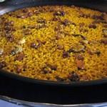 Riz au lapin et aux escargots, recette typique espagnole