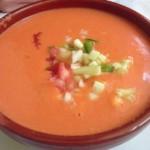 gaspacho andalou, plat typique du sud de l'Espagne