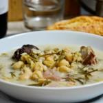 Olla de trigo almeriense ou marmite de blé d'Almeria, plat espagnol typique