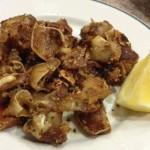 Oreilles de porc grillées, typiques de la cuisine espagnole