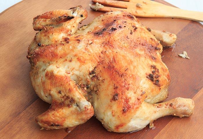 poulet rôti - poulet au four