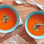 soupe de tomate ou velouté de tomates, recette de soupe facile
