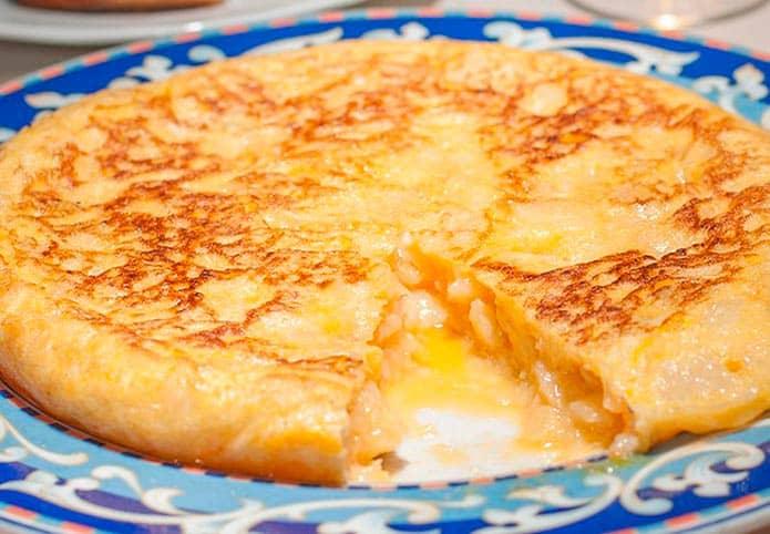 recette de tortilla espagnole