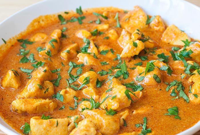 poulet au curry
