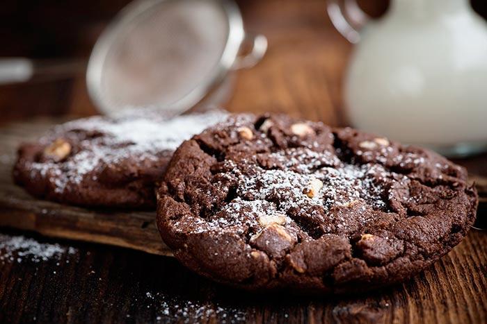 cookieq gurmands : recette de cookies tout chocolat <3