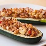 courgettes farcies au four, recette de cuisine