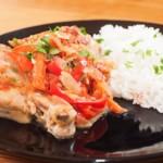 poulet basquaise, recette de cuisine facile