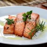 pavé de saumon grillé, recette de poisson facile