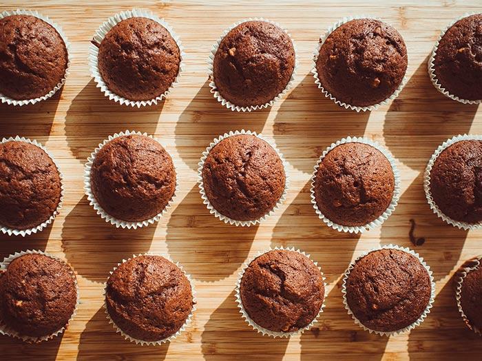recette de muffins au chocolat facile