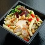 Salade de pâtes au poulet, recette de cuisine facile