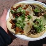 tacos al pastor, plat typique de la cuisine mexicaine