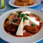 oeufs motulenos, plat typique mexicain pour le petit-déjeuner