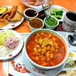 pozole, plat typique de la cuisine mexicaine