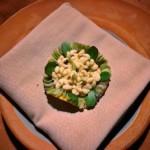 escamoles ou œufs de formi, plat typique de la cuisine mexicaine