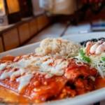 enchiladas, plat typique de la cuisine mexicaine
