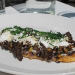 Huarache , spécialité de la cuisine mexicaine