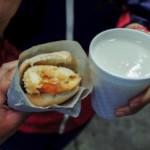 Guajolotas, exemple de street food de la cuisine mexicaine