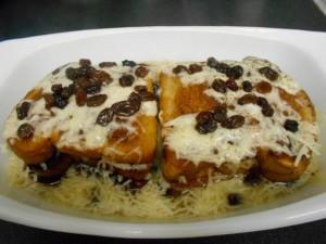 Capirotada, dessert typique de la cuisine mexicaine
