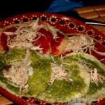 chalupas, plat mexicain typique