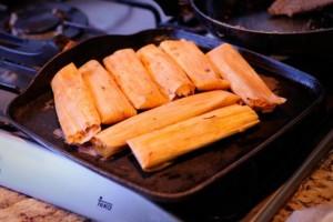 tamales, plat typique de la cuisine mexicaine