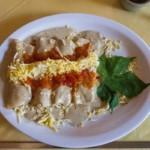 papadzules, plat typique de la cuisine du sud du Mexique