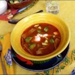 soupe tarasca, recette de soupe typique mexicaine