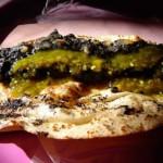quesadillas de huitlacoche typiques de la gastronomie mexicaine populaire