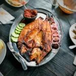 « pescado zarandeado » ou « poisson secoué » (poisson en papillote au style mexicain)