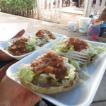 sopes, plat mexicain typique