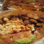 cemitas, plat mexicain typique de la province de Puebla