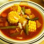 mole de olla, soupe mexicaine typique