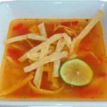 Soupe de lime, recette mexicaine typique