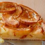 tarte aux pommes sans pâte ou tarte renversée, recette de cuisine