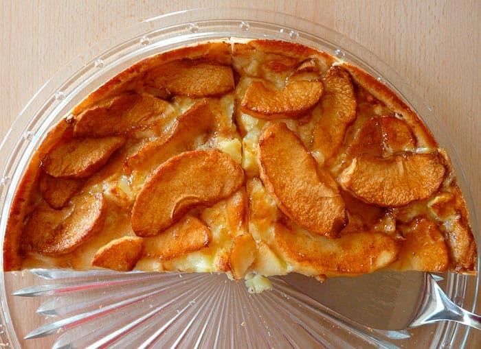 tarte renversée aux pommes ou tarte aux pommes sans pâte