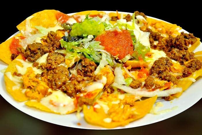 recette de nachos au four mexicains, ou chips mexicaines au four