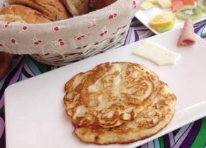 pancakes à la banane, recette pour le petit-déjeuner