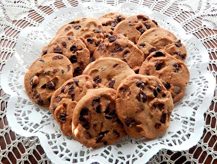 recette de cookies maison aux pépites de chocolat