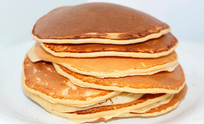 recette de cuisine facile : pancakes aux flocons d'avoine healthy