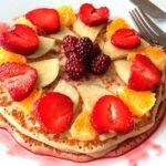 pancakes aux flocons d'avoine healthy, recette de cuisine