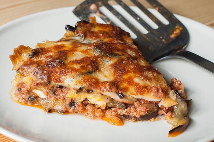 Lasagnes aux aubergines, recette de cuisine