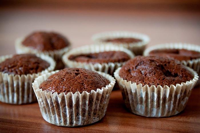 muffins au chocolat, recette de muffins moelleux
